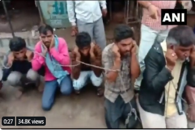 25 Tied With Rope, Forced To Say 'Gau Mata Ki Jai' In Madhya Pradesh
