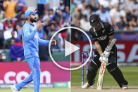 IND Vs NZ, Semi-Final, Cricket World Cup: When Virat Kohli Dismissed Kane Williamson, And How! Watch It Here – VIDEO