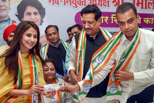 Urmila Matondkar's Letter Flaying Sanjay Nirupam's Aides Surfaces Amid Feud In Mumbai Congress