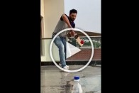 Former India All-Rounder Yuvraj Singh Adds New Dimension To Bottle Cap Challenge – WATCH