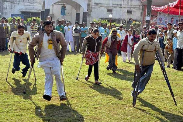 Specially-Abled Man In Madhya Pradesh Becomes Inspiration To Youth, Others Like Him