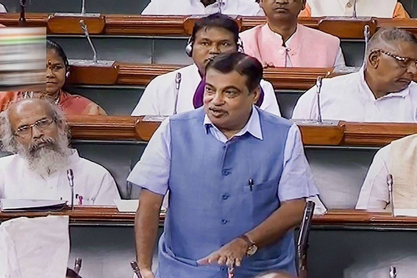 Nitin Gadkari Feels Uneasy At Public Event, Sits Down Midway Through National Anthem