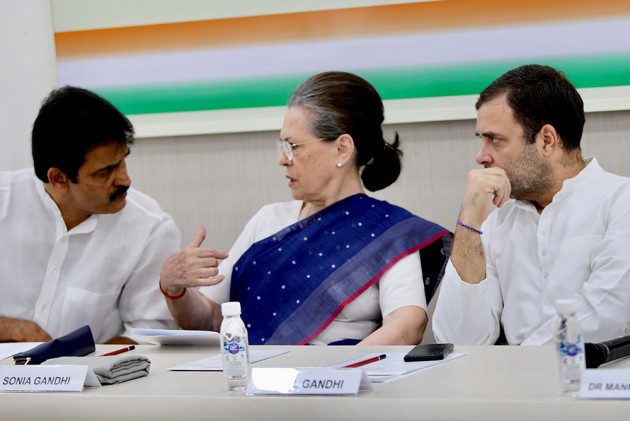 Sonia Gandhi Named Interim Congress President After Marathon CWC Meeting