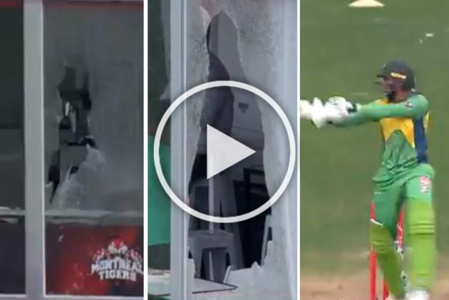 Global T20: Veteran Pakistan All-Rounder Shoaib Malik Wreaks Havoc, Breaks Glasses In Canada – WATCH