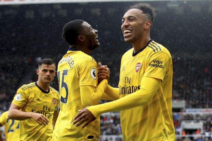 Premier League: Pierre-Emerick Aubameyang Shines As Arsenal Edge Past Newcastle United