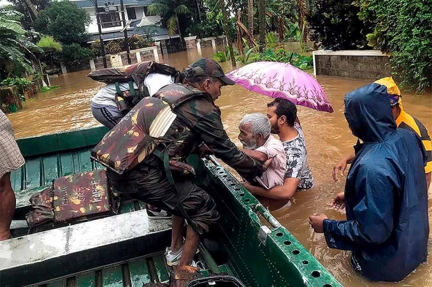 157 Dead In Flood, Rain-Related Incidents In Kerala, Karnataka, Maharashtra And Gujarat
