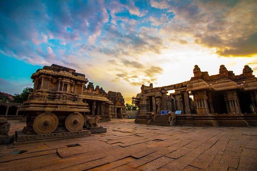 World Heritage Site Hampi Faces Flood Threat, Tourists Shifted To Safer Places