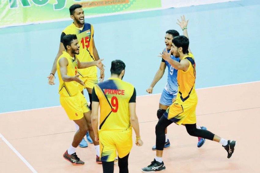 India Defeat Pakistan To Reach Asian U-23 Volleyball Championships Final For The First Time