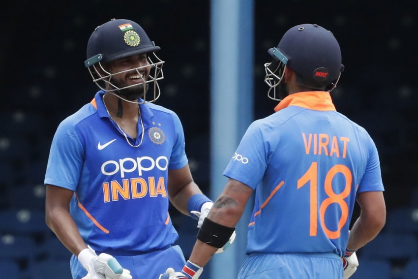 WI Vs IND, 2nd ODI: Virat Kohli Admits Shreyas Iyer Takes Pressure Off Him; Fans Think About Something Else, More
