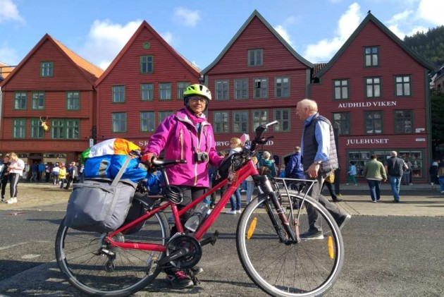 50-Year-Old Kolkata Cyclist In Vienna To Embark On 50-Day Solo Cycle Trip