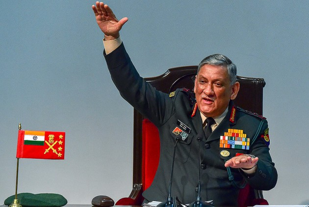 'Not A Matter Of Concern': Army Chief On Pakistan Increasing Troops Along LoC