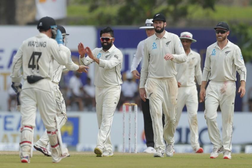 Sri Lanka v New Zealand, 1st Test, Day 2: SL Recover After Ajaz Patel's Five-For