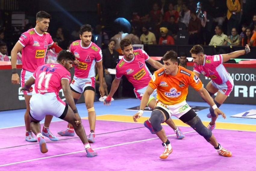Pro Kabaddi League 2019: Jaipur Pink Panthers Register Big Win Over Puneri Paltan