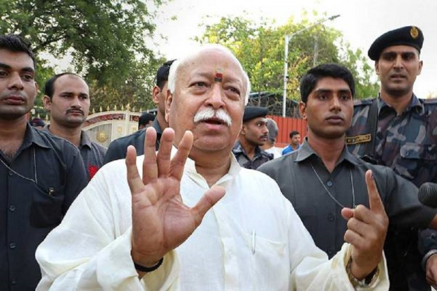 Article 370 Could Be Revoked Due To Entire Society's Resolve: RSS Chief Mohan Bhagwat