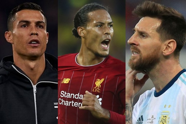 Lionel Messi, Cristiano Ronaldo Joined By Virgil Van Dijk On Three-Man UEFA Award Shortlist