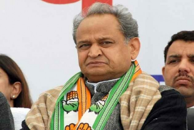 Rajasthan CM Ashok Gehlot Hits Out At Modi Government In His I-Day Speech