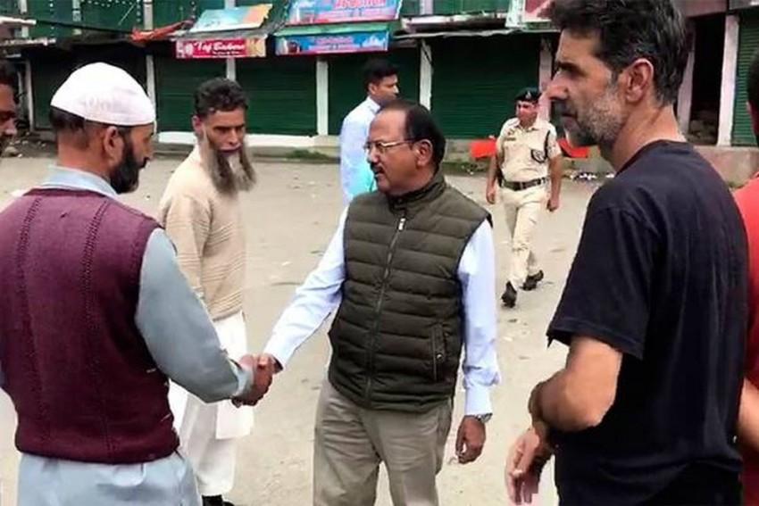 NSA Ajit Doval Returns To Delhi After 11 Days In Kashmir Valley