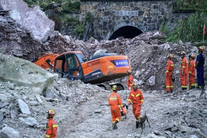 17 Go Missing In Southwest China Landslide, Rescue Operations Underway
