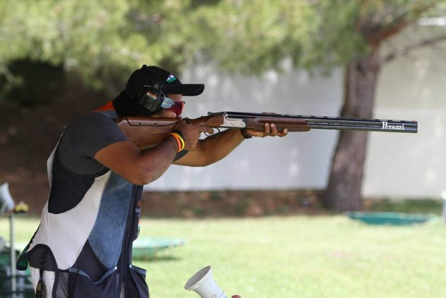 Prithviraj Tondaiman Best Placed Indian After Day One of Lahti ISSF Shotgun World Cup