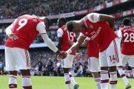 EPL, Arsenal 2-1 Burnley: Pierre-Emerick Aubameyang, Alexandre Lacazette Lead Gunners To Maximum Six Points