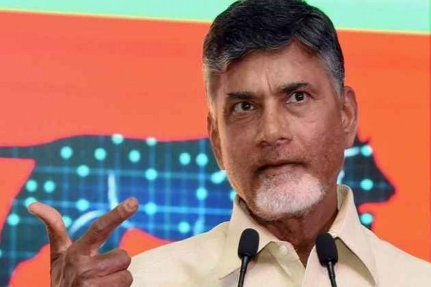Drones Over Former Andhra CM Chandrababu Naidu's House Spark Row