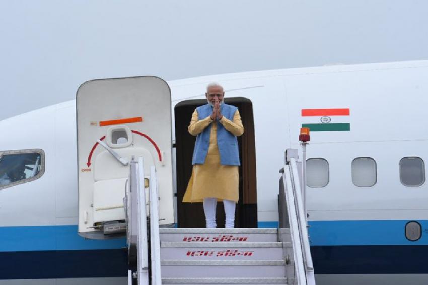 Prime Minister Narendra Modi Departs For Two-Day Visit To Bhutan