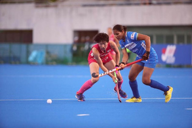 Indian Women's Hockey Team Begins Olympic Test Event Campaign With 2-1 Win Over Japan