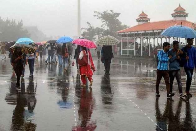 Himachal Sees Heavy Rains, All Major Rivers In Spate