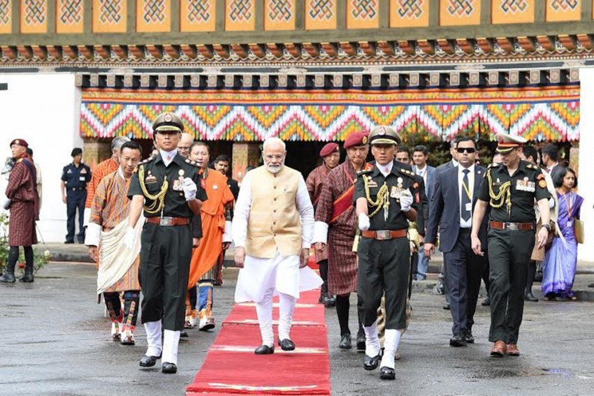 Great Scope To Further Improve Economic, Cultural Ties Between India, Bhutan: PM Modi