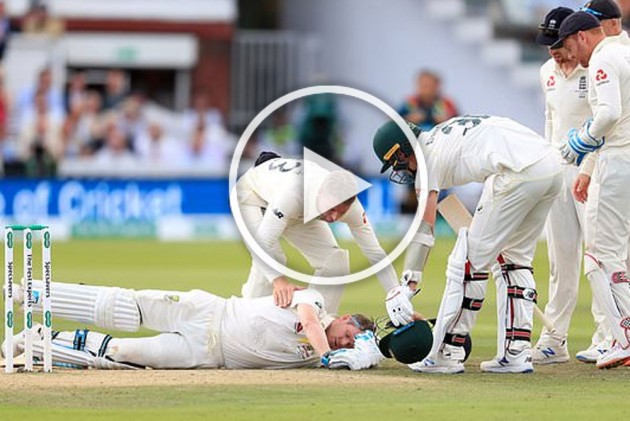 Ashes, ENG vs AUS, 2nd Test: Steve Smith Retires Hurt After Brutal Blow To Head By Jofra Archer Bullet Delivery – VIDEO