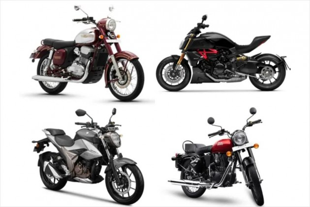Top 5 Bike News Of The Week: Most Affordable RE Bullet 350 Launched, Jawa Introduces Delivery Estimator Tool, Suzuki Gixxer 250 Launched & More!