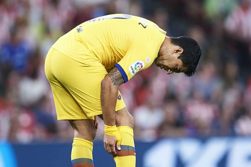 LaLiga: Barcelona Confirm Calf Injury For Luis Suarez After Loss To Athletic Bilbao