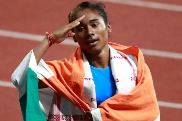 Hima Das And Muhammed Anas Win Gold In Czech Republic