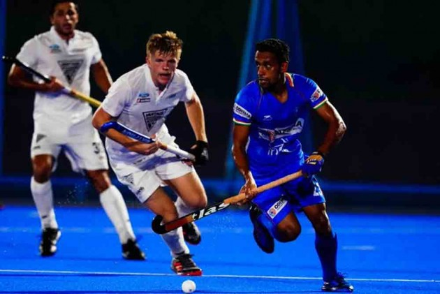 Indian Men's Hockey Team Lose To New Zealand In Olympic Test Event