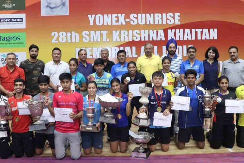 All-India Junior Badminton Ranking Tournament: Maisnam Meiraba Triumphs; Double Delight For Tanisha Crasto, Aditi Bhatt