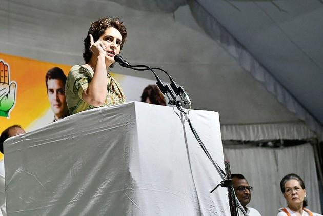 'Still A Democracy?' Priyanka Gandhi Hits Out At Centre Over Arrests Of Leaders In J&K