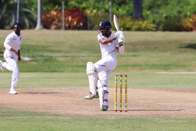 India A Vs West Indies A: Cheteshwar Pujara Ton Takes India To 297/5 On Day 1 In Warm-Up Tie