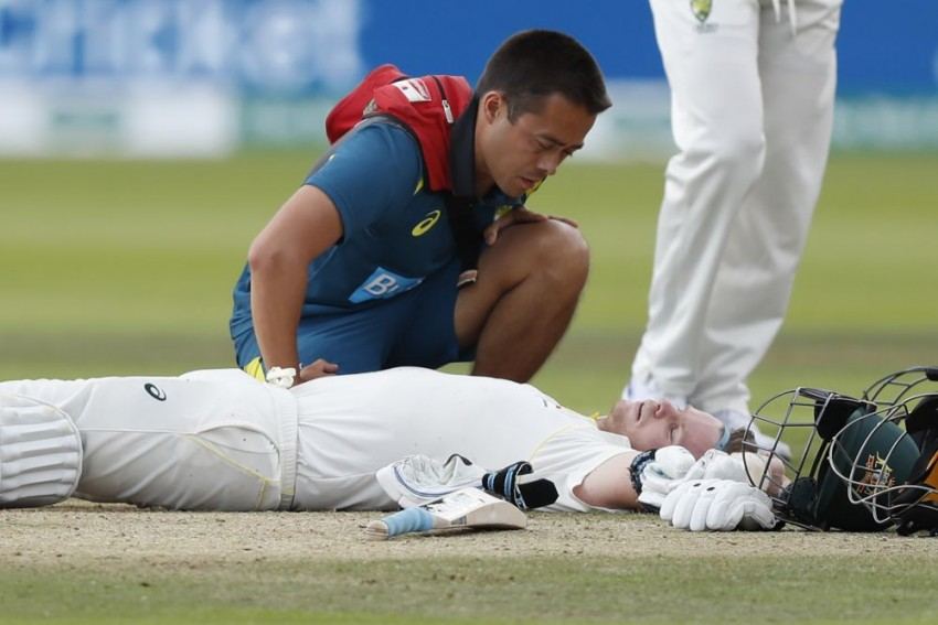 The Ashes 2019: Mandatory Neck Guards 'Not Far Away' After Steve Smith Felled by Jofra Archer