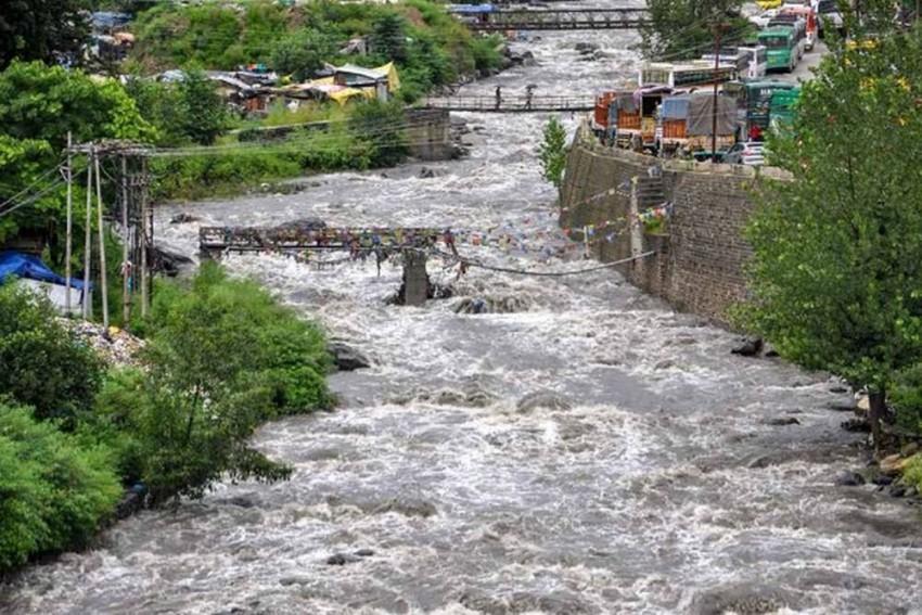 Flood Fury In Uttarakhand, Himachal And Punjab; Yamuna Breaches Danger Mark In Delhi