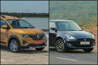 Renault Triber vs Maruti Swift: In Pics