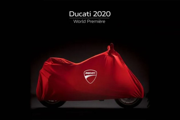 Mysterious Ducati Bike Teased; Likely To Debut At 2020 Ducati World Première