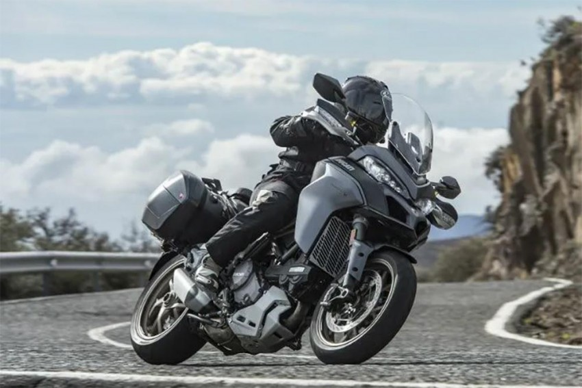 V4-powered Ducati Multistrada Spied For The First Time!