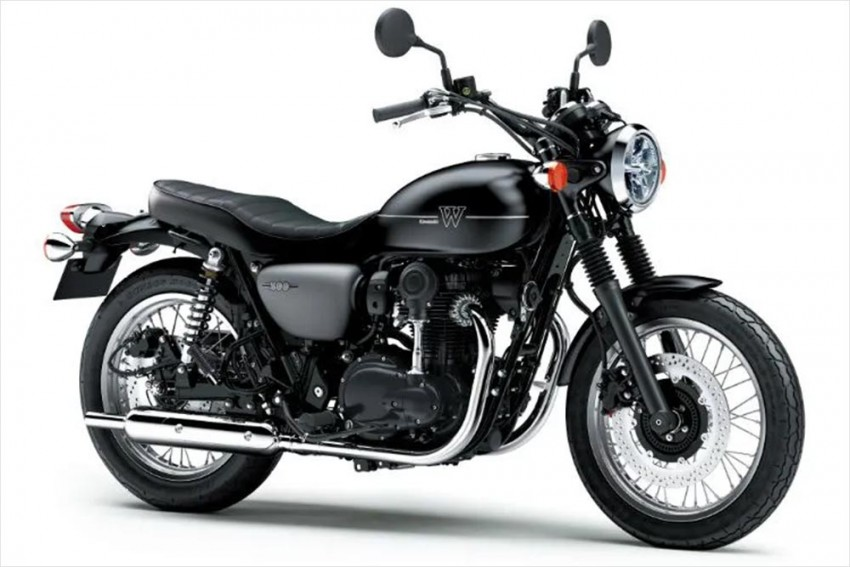 Is Kawasaki Working On A New W800 Variant?