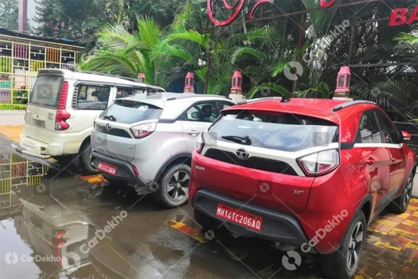 Tata Nexon BS6 Update Spied With Additional Features