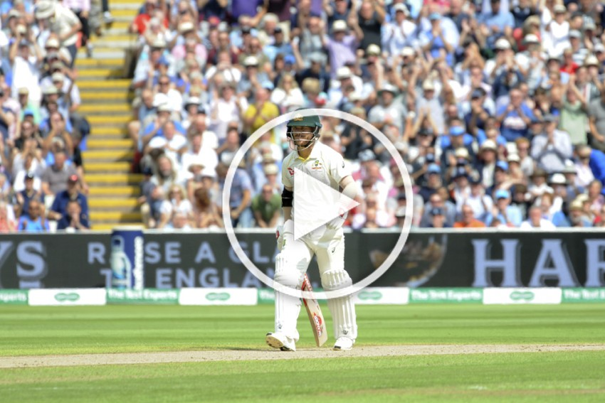 The Ashes 2019, England Vs Australia: David Warner Receives Sandpaper Send-Off From English Crowd – WATCH