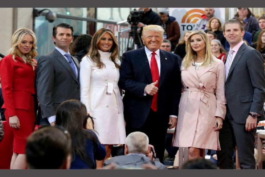 Donald Trump Becomes Grandfather For 10th Time