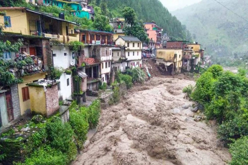 3 Killed As Helicopter For Flood Relief Crashes In Rain-Hit Uttarkashi