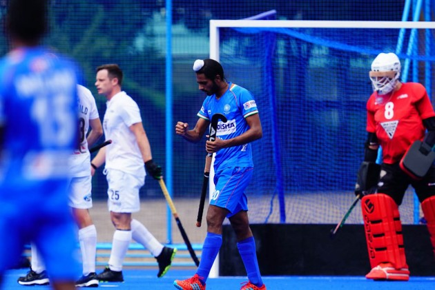 Indian Men's Hockey Team Defeat New Zealand To Win Olympic Test Event