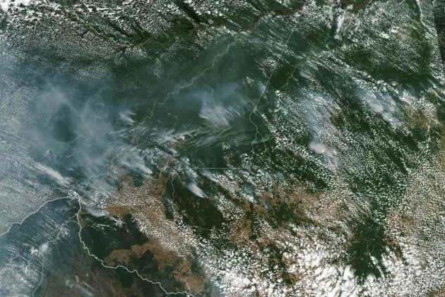 With 74,000 Outbreaks So Far, Fires In Amazon Rainforest Rage At Record Rate