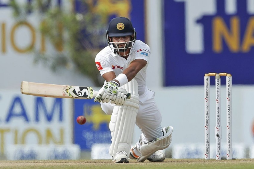 Sri Lanka v New Zealand, 2nd Test, Colombo: Dimuth Karunaratne Stands Tall On Rain-Curtailed Day